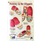 Mommy and Me Slippers Pattern