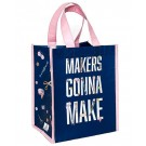 Maker's Gonna Make Reusable Tote Bag (Eco Material Is Made Out Of Recycled Plastic Bottles!)