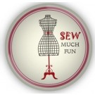 Sewing Themed Glass Magnet - Sew Much Fun - Pre-order for a late August 2018 delivery!