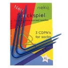 Neko - Curved Double Pointed Needles for Hats & Loops, Plastic, 5.5mm, Dark Blue