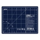 "OLFA 6"" x 8"" Double Sided Self-Healing Rotary Cutting Mat in Navy Blue"
