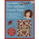 "Kim Diehl's Best Applique Freezer Paper - 11x8.5"" - 30 sheets"
