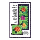 Aloha Hibiscus  Pattern (ByAnnie.com):  Applique with Fusible Thread Makes This Project Super Easy!