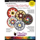 Easy Machine Sewn 8 Circle  Folded Star Hot Pad Pattern With Template, English Edition by PlumEasy