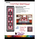 Amazing Hot Pad Table Runner Pattern: Elegant Table Runner Pattern With Built-In Hot Pads  - By PlumEasy