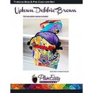 Uptown Debbie Brown Thread Bag And Pin Cushion  Set Pattern: Full Size Pattern Pieces Included - By PlumEasy