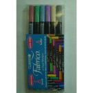 Fabrico Dual Markers, Pastel Package, 6 Pen Set