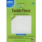 "Pellon Fusible Fleece: Low Loft, 100% Polyester, 22"" x 36"""