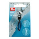 Prym Fashion Zipper Puller Loop, Oxidized