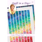 Color Wheel Quilt Pattern