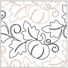 "Pumpkin Fest Pantograph Pattern, 9.75"" Wide x 144"" Long (Single Row)"