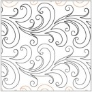 "Willow Petite Pantograph Pattern, 6.5"" Wide x 144"" Long (Single Row)"