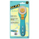 Splash Rotary Cutter, 45mm, Aqua
