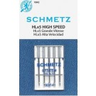 Schmetz HLx5 Professional Quilter's Machine Chrome Shank Needles, Size 14 (Medium to Heavy Weight Fabric), 5 count