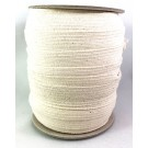 Bathing Suit Elastic, 68% Cotton/32% Rubber, 6mm x 44M, Beige