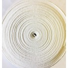 Twill Tape, 13mm x 50M, 100% Cotton, White