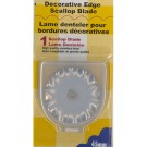 Olfa Scallop Blade For Rty2Dx, 1 Count