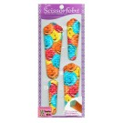 Scissor Fobz Scissor Sheaths in Bouquet Of Multi-Colour Roses, 4/pk