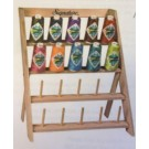 Wood Thread Rack For Cone Threads - Holds 20 cones - Threads not included
