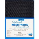 "Lightweight Mesh Fabric, 18"" X 54"", Navy"