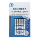 Schmetz Super Non-Stick Needles, 5 Count, Size 70