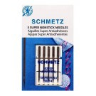 Schmetz Super Non-Stick Needles, 5 Count, Size 90