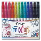 "Pilot Frixion Erasable ""Felt-Tip"" Markers (2.5mm) Set, 12 Count"