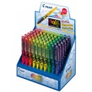 Pilot Frixion Fluorescent Chisel-Tip Erasable Highlighter, 60 Piece Display