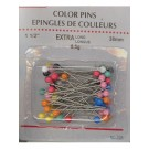 Pins Asst Colour Head 6.5 Grams, 32mm