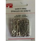 Safety Pins - Steel - 40 Count