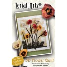 Terial 3D Poppy Quilt Pattern & Instructions (30%)