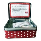 Tag It Ons Display Tins with 20 Packs of Various Tags (12pc. Per Tag)