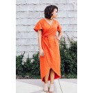 The Charli Anne Wrap Dress by Sew To Grow