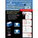Thread Magic CUBE, (Machine Sewing Thread CONDITIONER), 2 pieces. Full colour instructions included