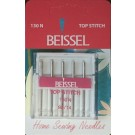 Beissel Sz 90 Top Stitch Machine Needles, Size 14, 5 Count