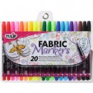 Tulip Fabric Markers: Permanent Fabric Markers, 20pc