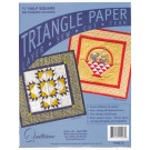 "Triangle Paper, .75"" Half Square, 900 finished squares"