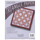 "Triangle Paper, 1.5"" Half Square, 720 finished squares"