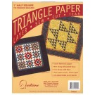 "Triangle Paper, 1.5"" Half Square, 700 finished squares"