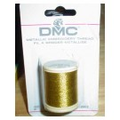 DMC GOLD EMBROIDERY THREAD, 5 SPOOLS - 40M PER SPOOL