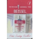 Beissel 2.0/80 Twin Universal Machine Needle, 1 Count