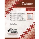 "Twister - Includes Tool, Instructions & Pattern for Quilt Using 10"" Squares"
