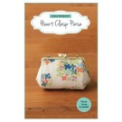 "Zakka Workshop Heart Clasp/Frame Purse Kit, 4 ¾"" x 5 ½"" (12 x 14 cm)"