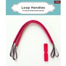 "Zakka Workshop - 19"" Loop Handles (Red)"