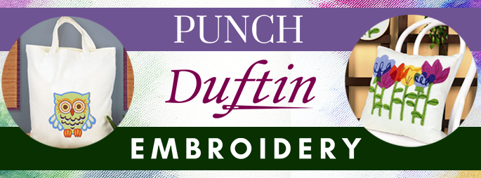 New Duftin Punch Embroidery Kits
