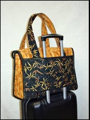 CTD1023 - Executive Tote Pattern by Lidia K. Froehler of A Cotton Treasure Design