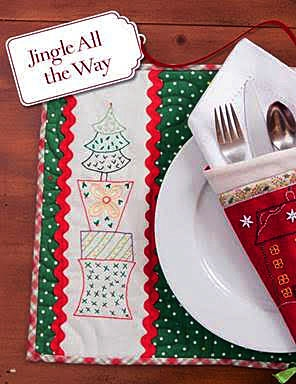 685879 - Handmade Christmas Cheer: Festive Holiday Projects to Embroider, Appliqué, and Quilt by Pat Wys