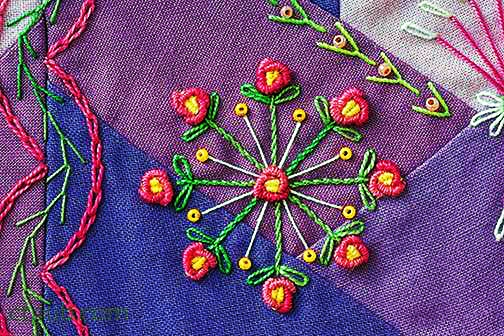 by Valerie Bothell...complete guide to 500 embroidery-stitch combinations seam by seam Joyful Daily Stitching