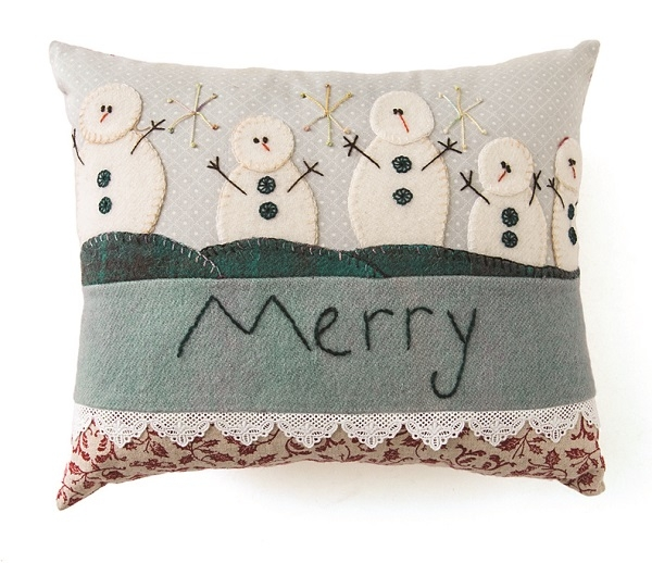 Cozy Wool Appliqu/é 11 Seasonal Folk Art Projects for Your Home