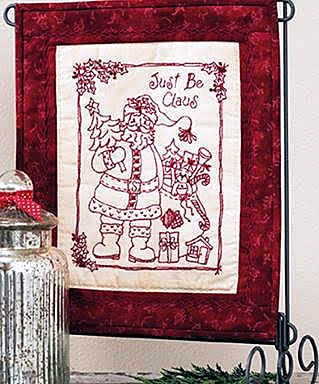 687903T - Just Be Claus: 24 Jolly Holiday Embroideries by Robin Kingsley